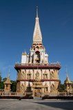 Wat Chalong is dedicated to two highly venerated monks, Luang Pho Chaem (Luang Pho Cham) and Luang Pho Chuang, who with their knowledge of herbal medicine helped injured local residents fleeing the tin miners rebellion of 1876.